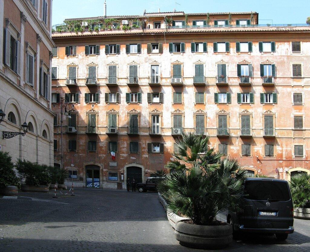 Рим. Площадь Грациоли (Piazza Grazioli)