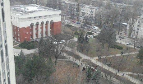 Поступило сообщение о бомбе в одном из зданий Суда Кишинёва