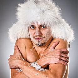 Холод поможет приобрести стройность фигуры