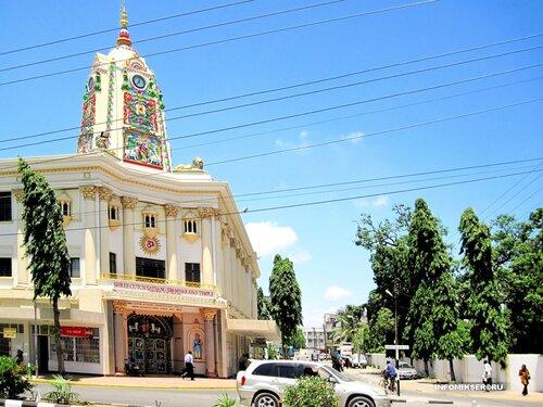 Swaminarayan Temple in Mombasa (Kenya)