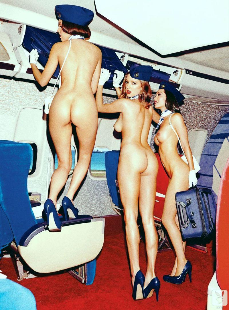 Стюардесса с широкой попкой 8 фотография