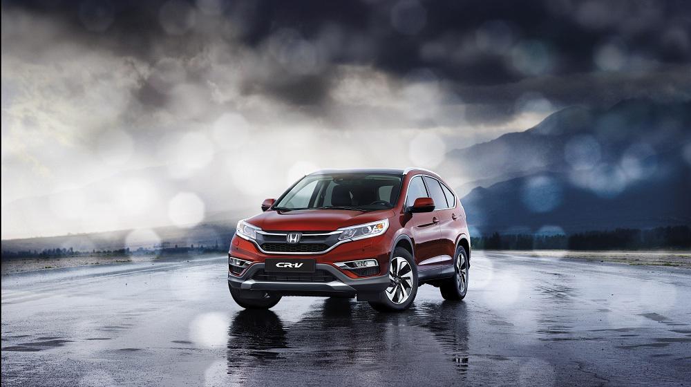 Объявлены русские цены на Хонда CR-V