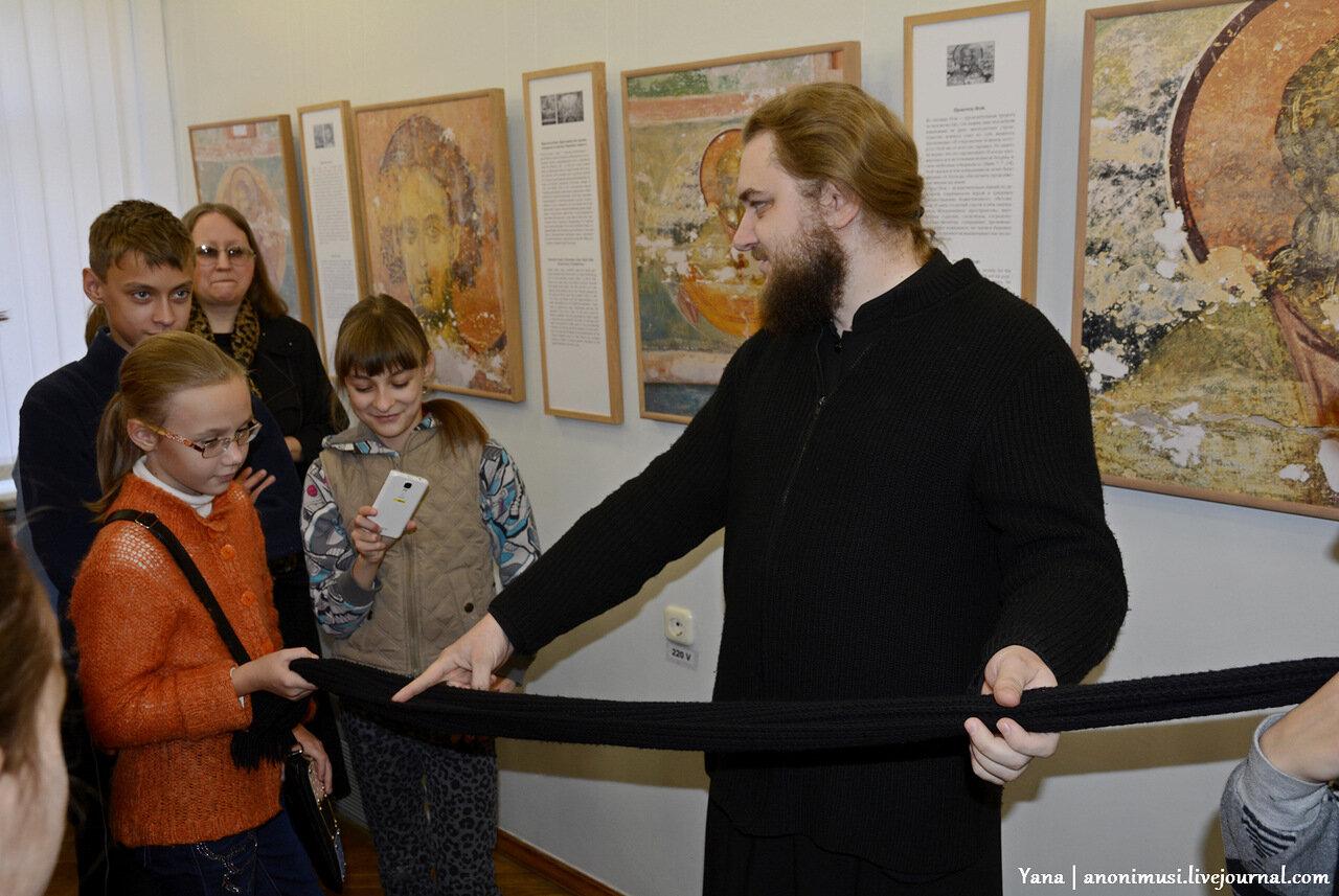 Юрий Холдин. Свет фресок Дионисия – миру. Выставка в картинной галее Ващенко в Гомеле
