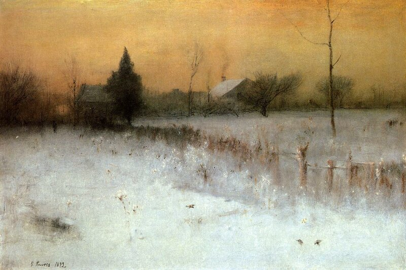 Inness George. Home at Montclair