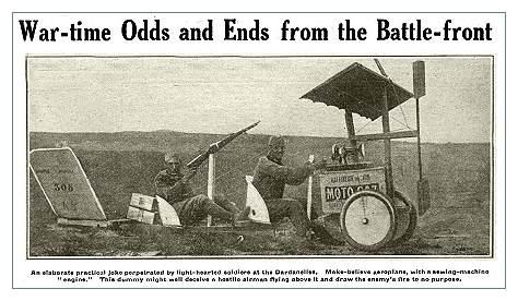 Первая мировая. Забавные изобретения