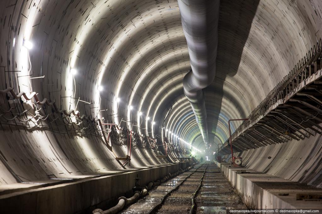 железнодорожный тоннель в воронеже фото выглянуло