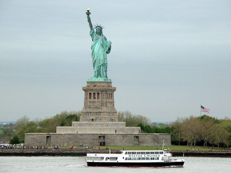 Статуя Свободы. США.