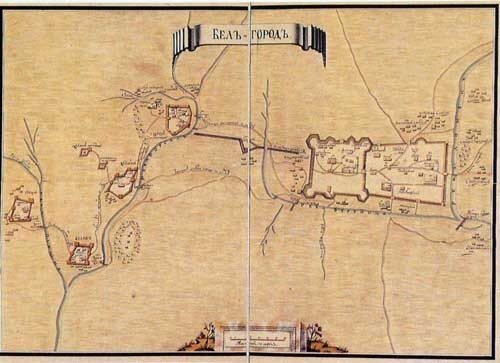 План 3й крепости