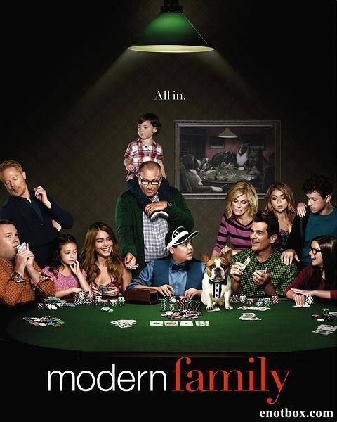 Американская семейка (Семейные ценности) / Modern Family - Полный 6 сезон [2014, WEB-DLRip | WEB-DL 1080p] (LostFilm)