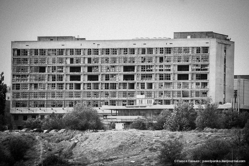 панько pavelpanko архитектура город Волгоград разруха здание