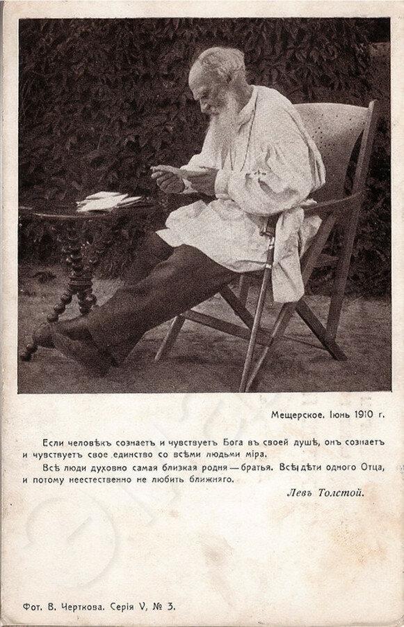 Лев Толстой Серия V №3