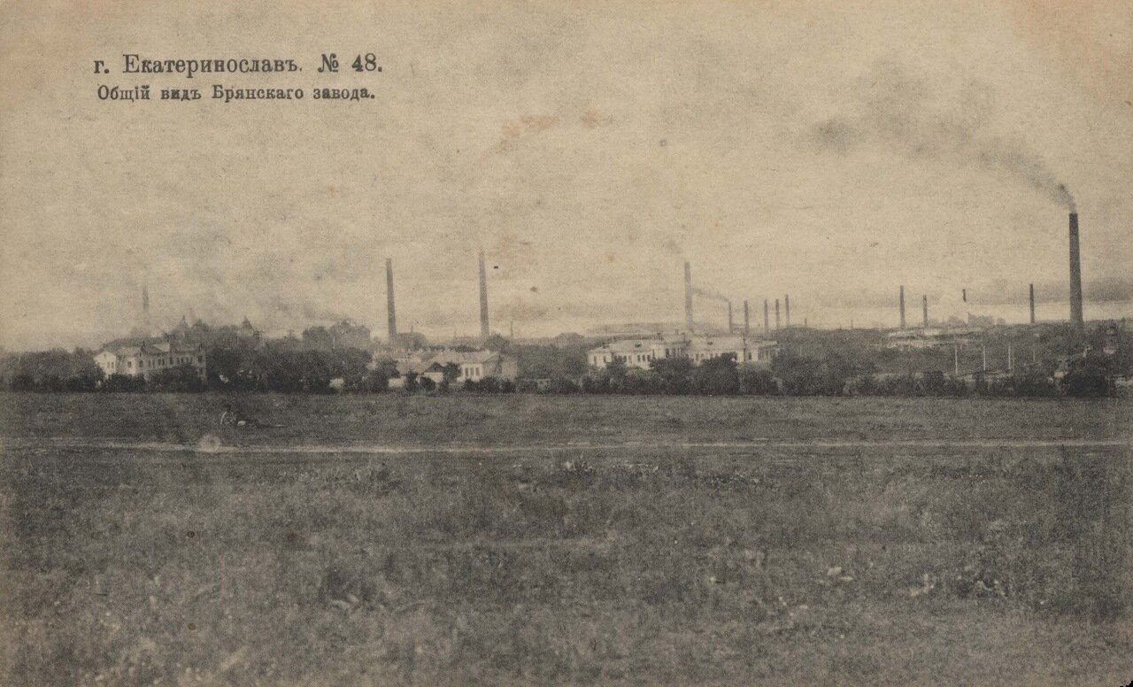Брянский завод. Общий вид