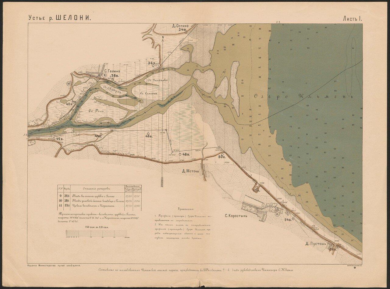 55. Устье реки Шелони