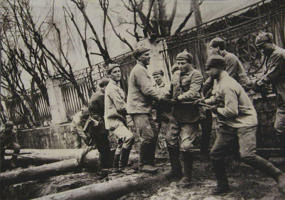1933. Александр Устинов. Строительство московского метро
