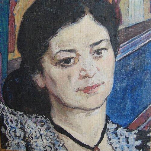 <a href='http://img-fotki.yandex.ru/get/5708/97867398.13/0_82576_195ad27_orig.jpg'>Н.В. Шувалов. Этюд к портрету К.П. Ветковской, 1957 г. Х., темпера.</a>