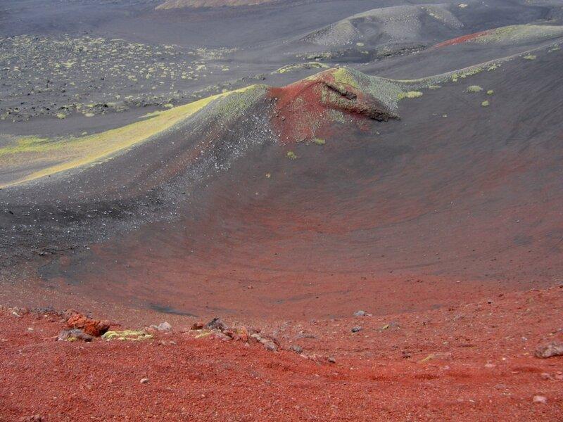 Камчатка, Толбачик, кратер вулкана
