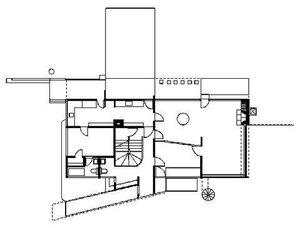Дом Вальтера Гропиуса, план