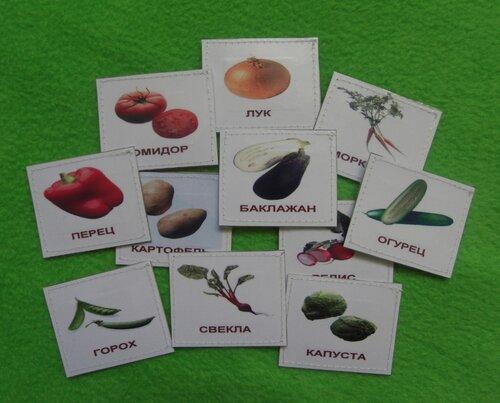 Развивающий коврик и карточки Домана