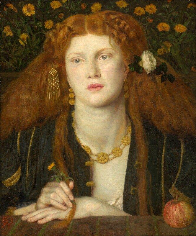 'Bocca Baciata' Dante Gabriel Rossetti