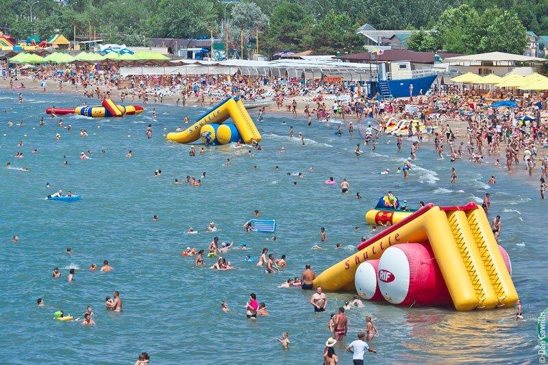 Пляжи Анапы отзывы