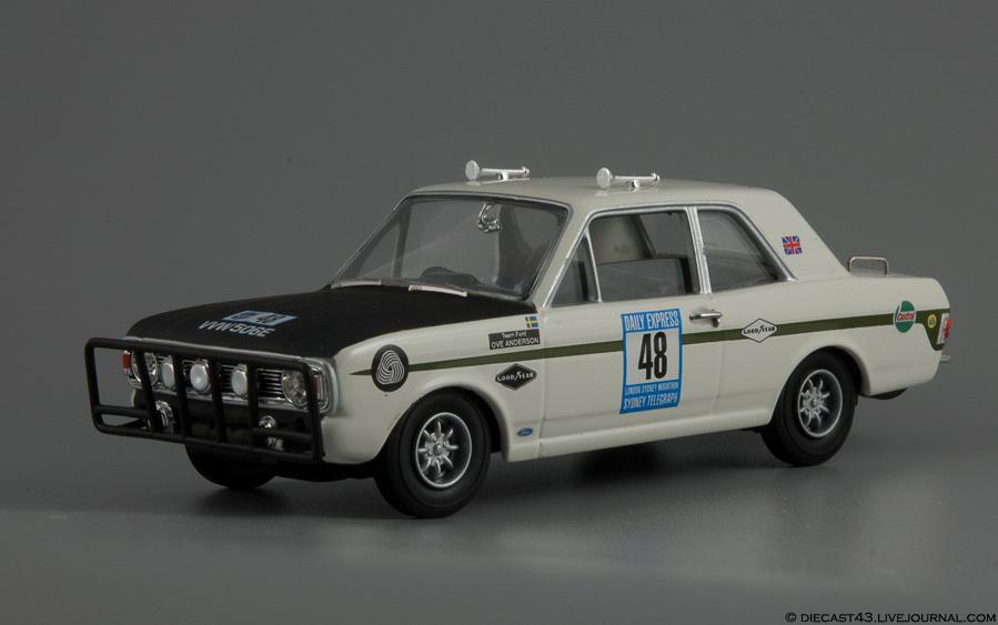 Lotus-Cortina MkII London-Sydney 48 Vanguards