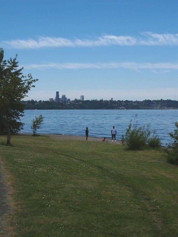 На озере Вашингтон