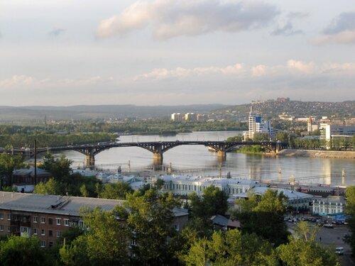 Иркутск. Река Ангара