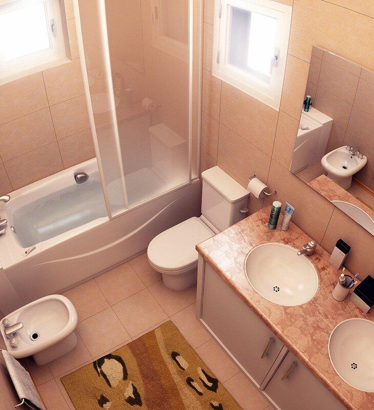Как сделать дизайн маленькой ванной