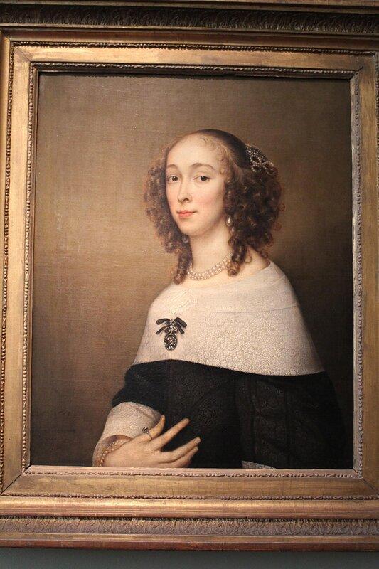 Женский портрет (Адриан Ханнеман)