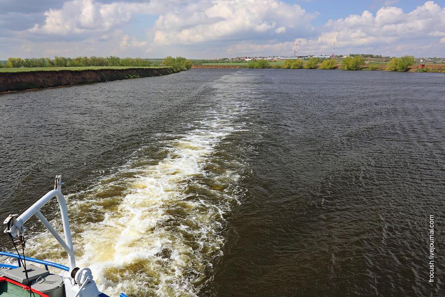 Москва-река в районе Лыткарино