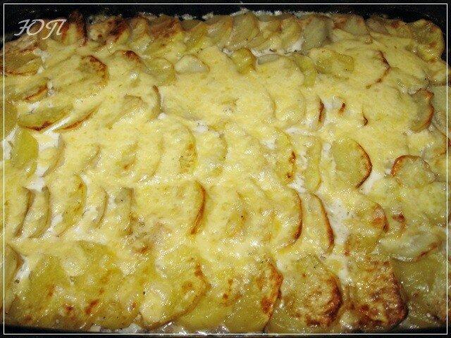 Как сделать картошку с майонезом