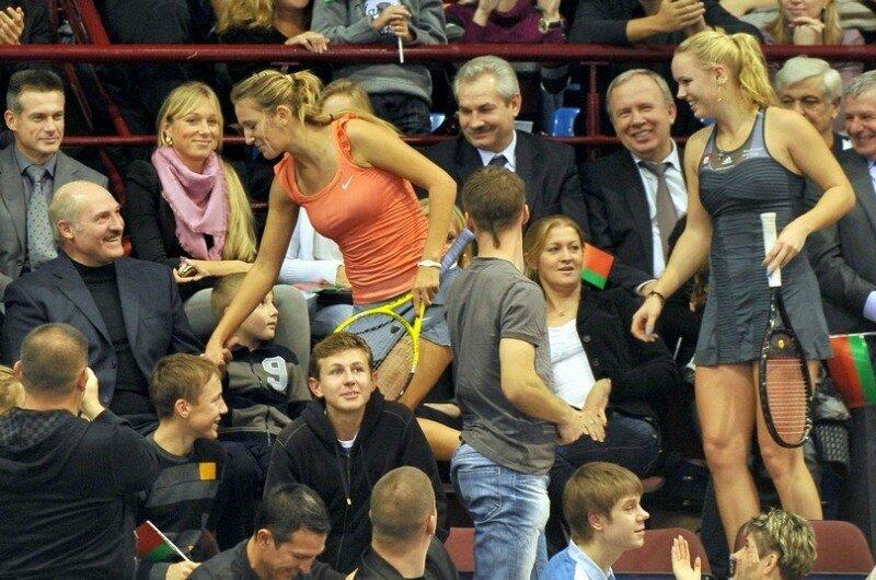 Denmark's tennis star Caroline Wozniacki
