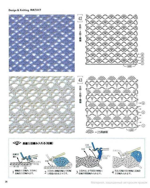 Вязание крючком рисунки