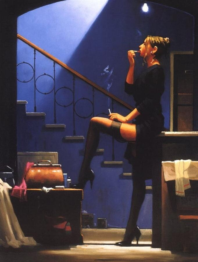 Dancer for Money, by Jack Vettriano