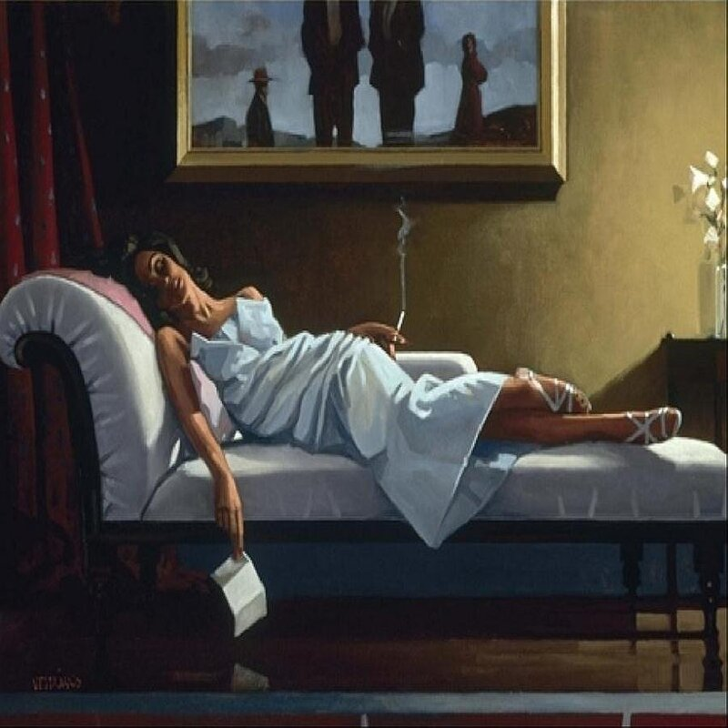 The Letter, by Jack Vettriano
