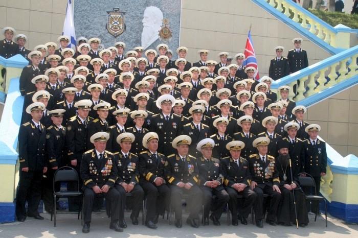 В Тихоокеанском военно-морском институте состоялся выпуск лейтенантов