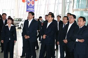 В Дунине проходит Российско-Китайская выставка-ярмарка машинно-технической продукции