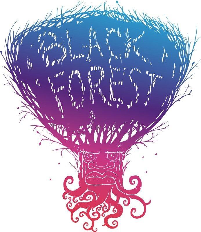 black forest,  дерево,  негр, черный лес