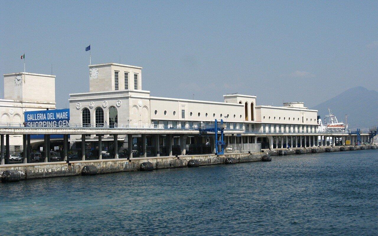 Неаполь. Морской вокзал (Stazione Marittima di Napoli)