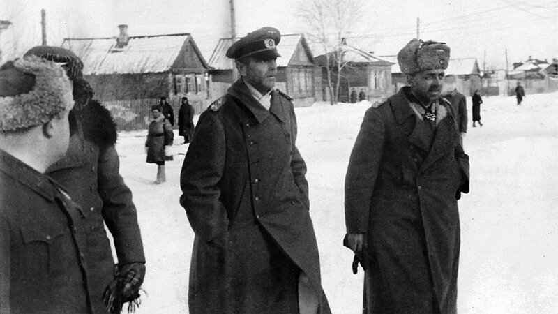 Генерал-фельдмаршал Паулюс в советском плену