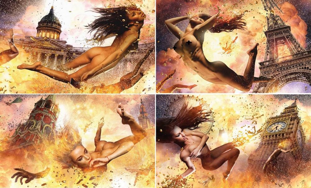 Эротический календарь Лаки Ли: «Апокалипсис завтра»