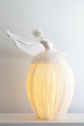 Интерьерные светильники из папье-маше