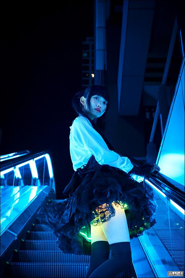 Сияющая юбка от японского дизайнера Киёюки Амано (Kiyoyuki Amano)