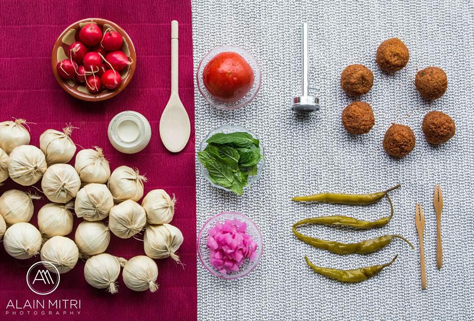 Красивая еда Charbel Zgheib