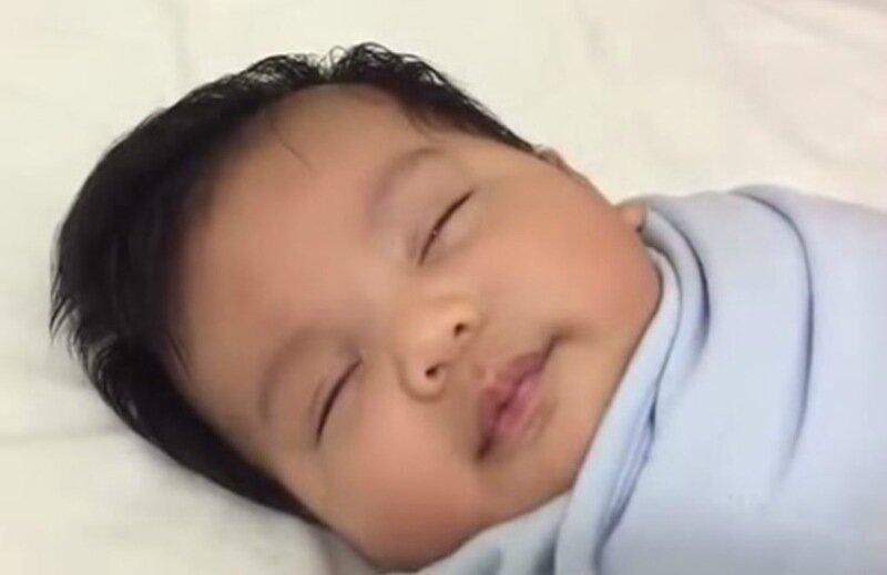 Видео. Как успокоить ребенка за 40 секунд