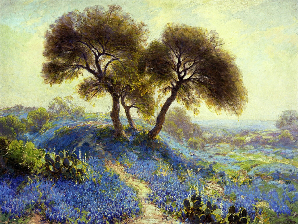 A Spring Morning, Bluebonnets, San Antonio, 1913.jpeg