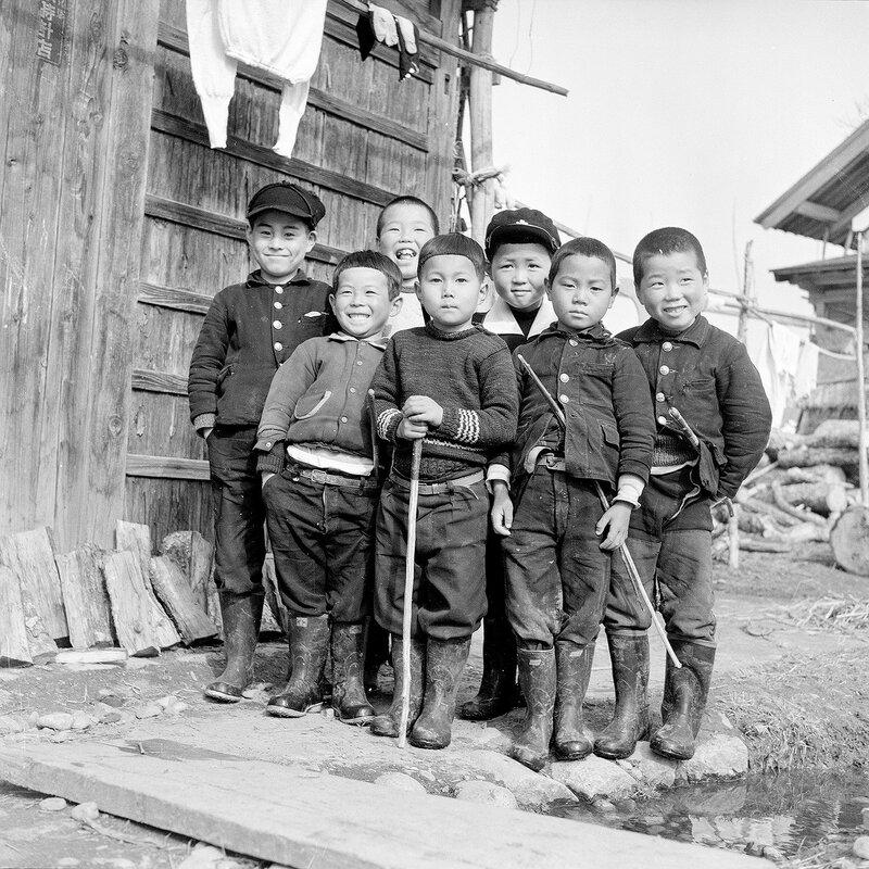 1950s Japanese Boys