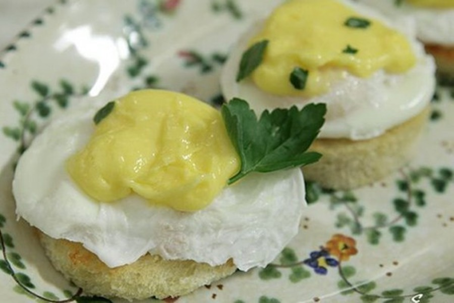 Вкусные яйца «Пармантье»