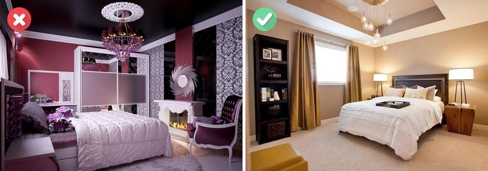 Если выхотите, чтобы потолок ввашей комнате стремился ввысь, анемрачно нависал увас над головой