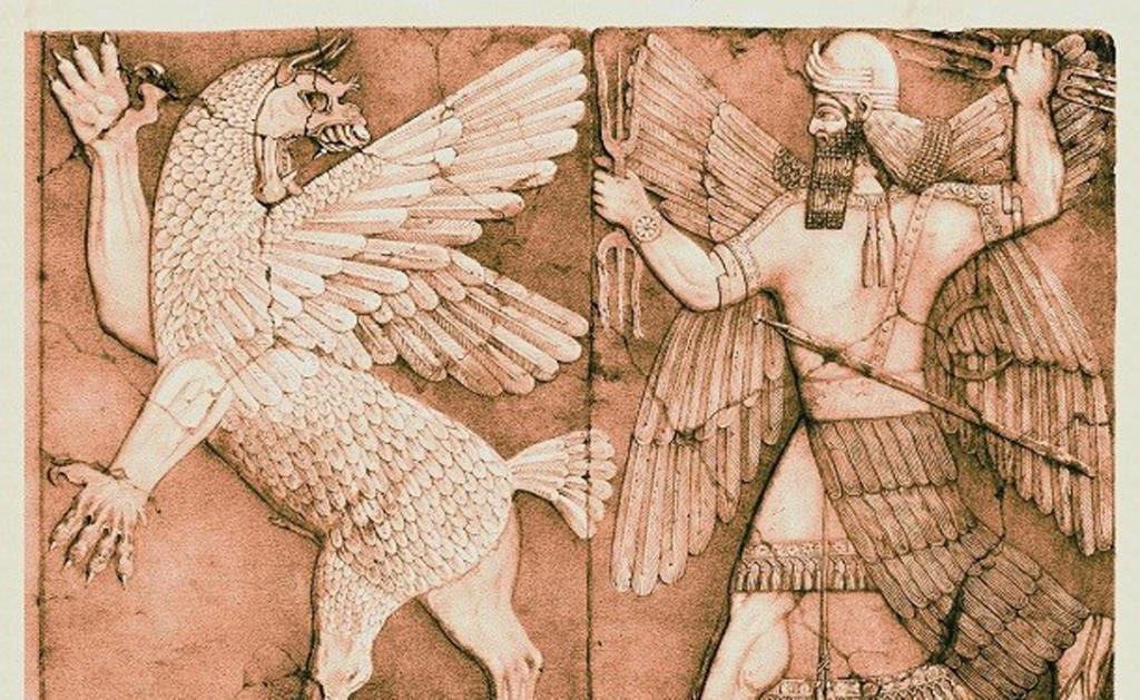 Оружие месопотамского бога Нинурта. Булава могла настичь врага в любом конце мира и, к тому же, испо